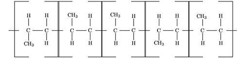 ساختار اتاکتیک پلی پروپیلن