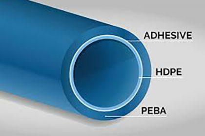 برای چسباندن فیلمهای ناهمگون نیاز به نسل جدیدی از چسبهای بین لایه ای است که اصطلاحاً به آن ها (Tie-Layer Adhesive) میگویند.