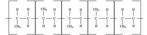 ساختار سیندیوتاکتیک پلی پروپیلن