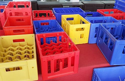 جعبه های نوشابه، ساخته شده با پلی اتیلن سنگین تزریقی